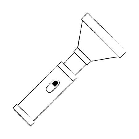 military flash light equipment vector illustration design