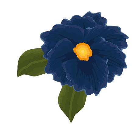 beautiful flower garden icon vector illustration design Illustration