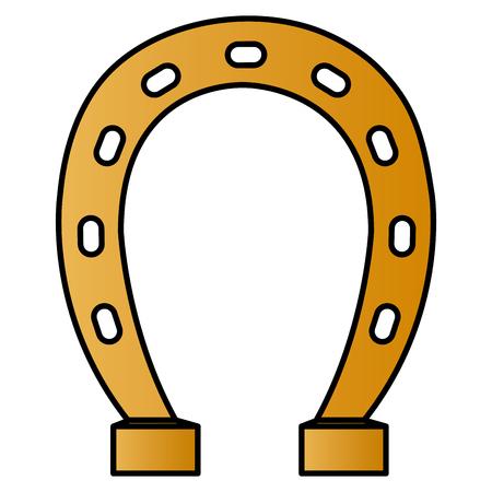 horseshoe saint patrick icon vector illustration design 版權商用圖片 - 100266168