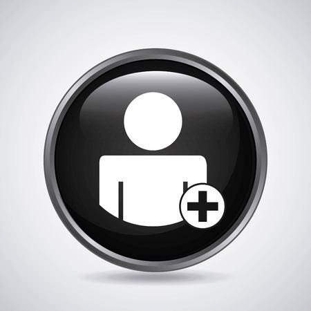 avatar person design, vector illustration eps10 graphic