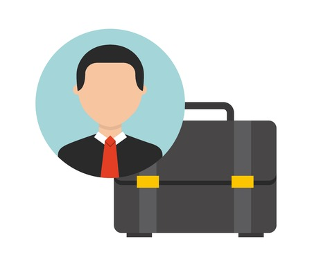businessman icon design, vector illustration eps10 graphic