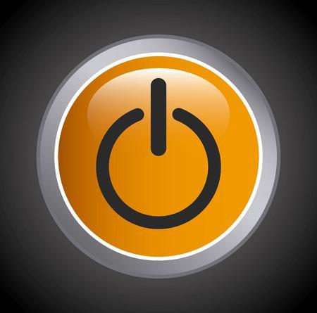 computer button design, vector illustration eps10 graphic