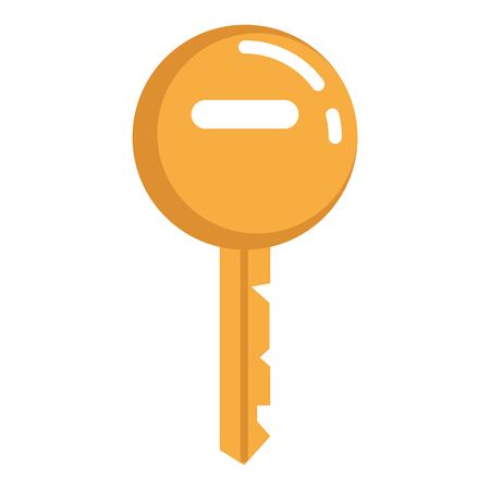 Key door isolated icon illustration design.