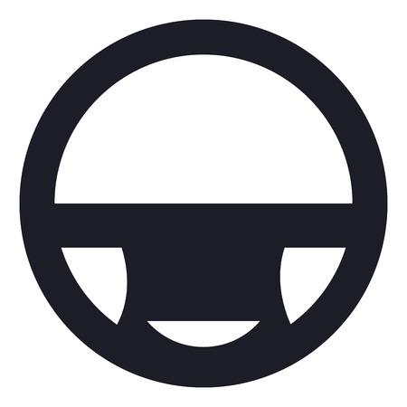 car wheel driver icon vector illustration design Foto de archivo - 100452684