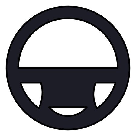 car wheel driver icon vector illustration design Foto de archivo - 100452723