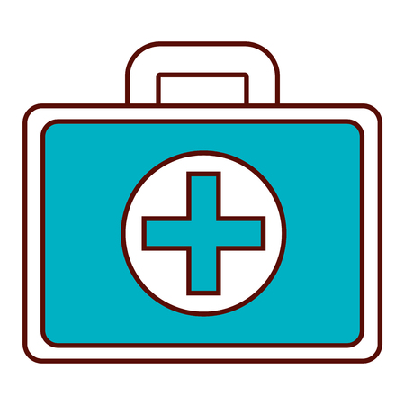 Medical kit isolated icon vector illustration design 일러스트