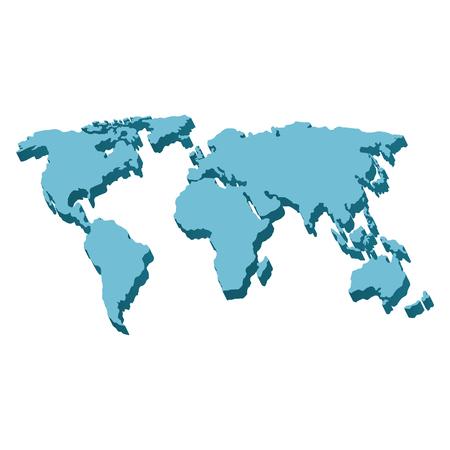 World planet earth maps vector illustration design Illustration