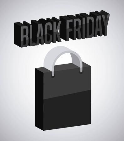 black friday deals design, vector illustration graphic