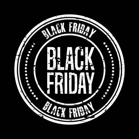 black friday deals design, vector illustration graphic