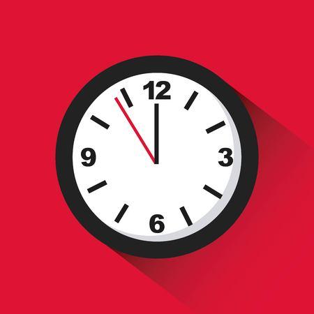 Time icon design, vector illustration graphic