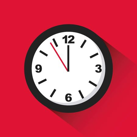 Time icon design, vector illustration graphic