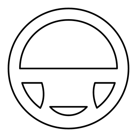 car wheel driver icon vector illustration design Foto de archivo - 100692694