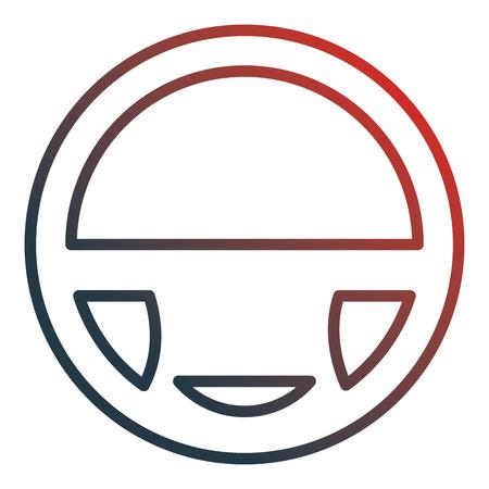 car wheel driver icon vector illustration design Foto de archivo - 100508706