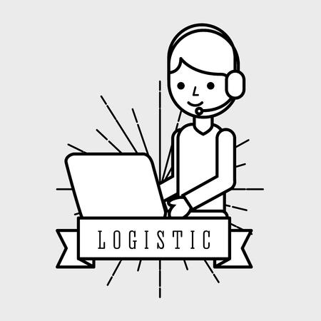 Logistic man operator
