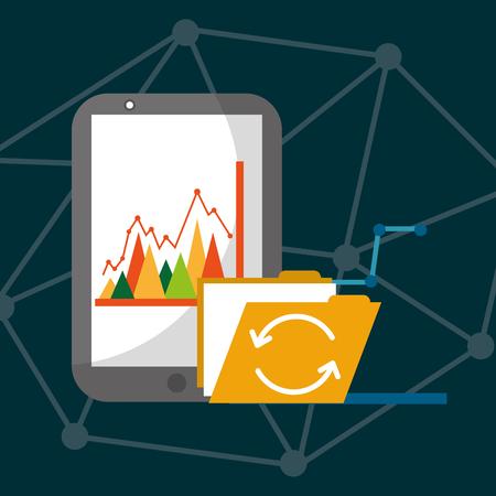 Mobile phone statistics folder