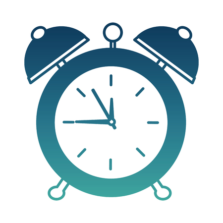 Alarm clock pop art style vector illustration design