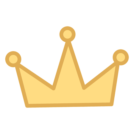 crown royal jewelry icon image vector illustration Foto de archivo - 100565601