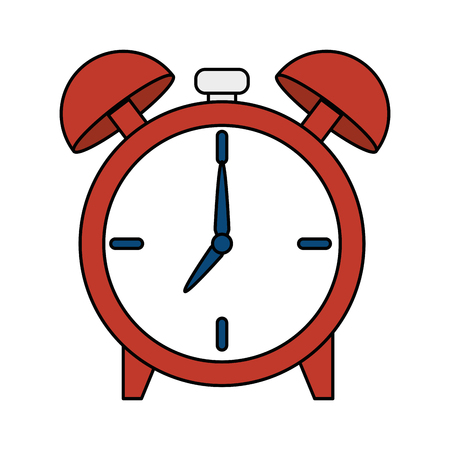 alarm clock time icon vector illustration design