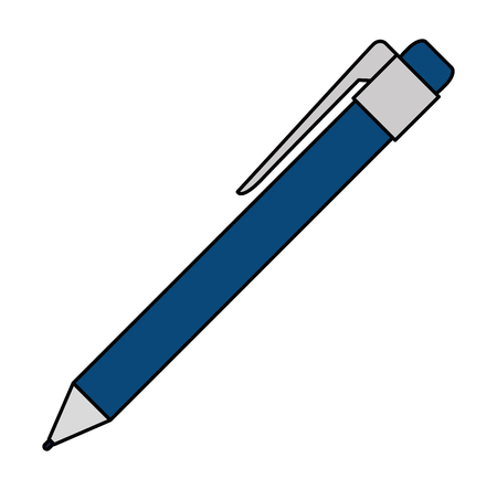 A pen icon vector illustration design