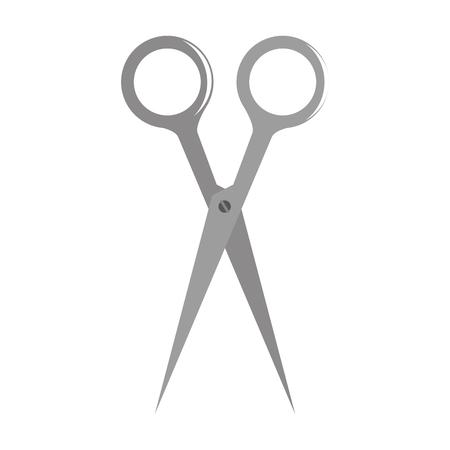 scissors school supply icon vector illustration design