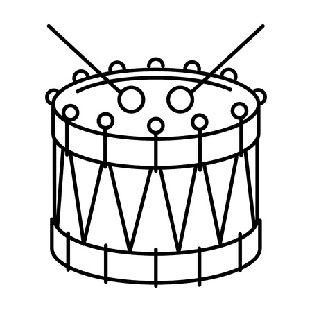 Drum Иллюстрация