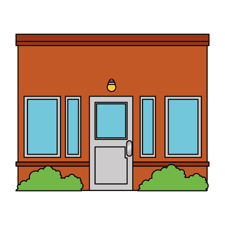 House facade front icon vector illustration design Stock Vector - 100623936