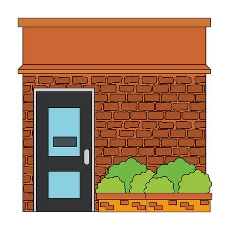 store building front facade vector illustration design Ilustrace