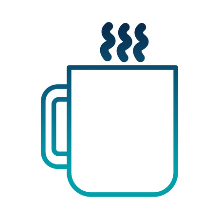 Coffee cup drink icon illustration design
