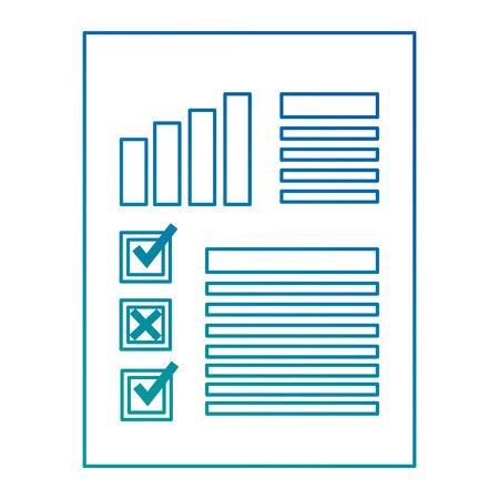 Finance document paper icon vector illustration design Illustration