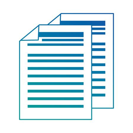 finance document paper icon vector illustration design Ilustração