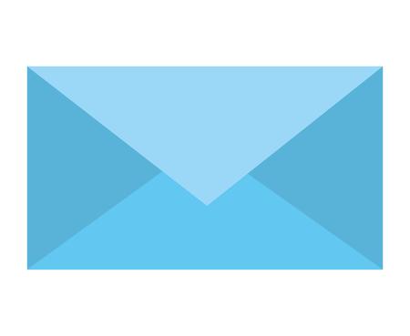 Email envelope message letter communication vector illustration.