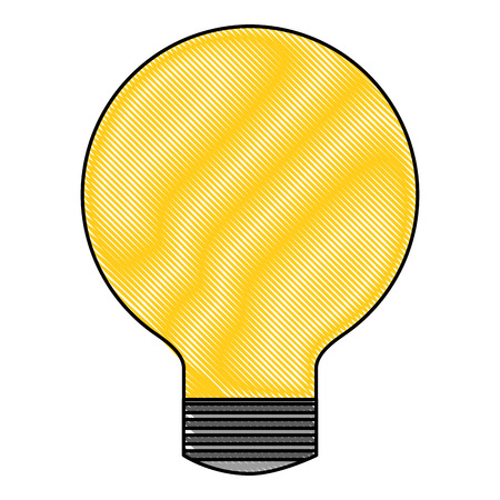 bulb light idea creativity image vector illustration drawing