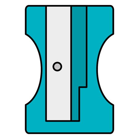 pencil sharpener supply school icon vector illustration design  イラスト・ベクター素材
