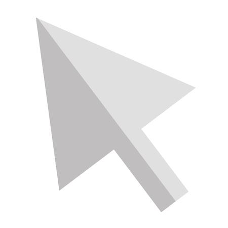 arrow mouse cursor icon vector illustration design