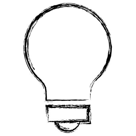 bulb light isolated icon vector illustration design Иллюстрация