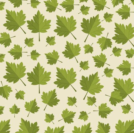 Maple leafs Canadian pattern background vector illustration design.  イラスト・ベクター素材