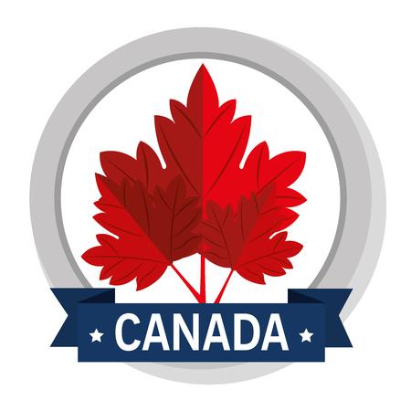 Canada quality seal icon vector illustration design Foto de archivo - 100734764