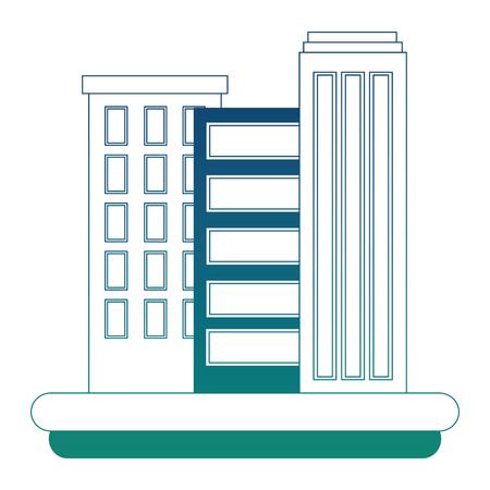 Cityscape scene icon vector illustration design Illustration