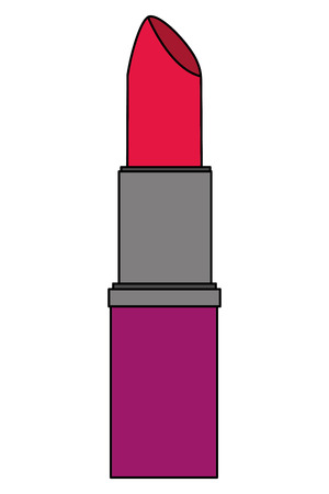lipstick cosmetic makeup fashion image vector illustration