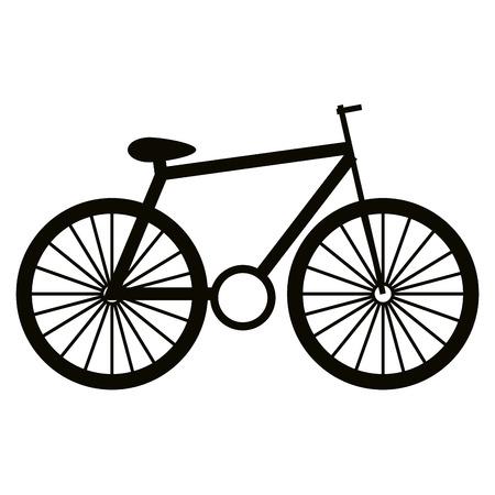 Bicycle vehicle isolated icon vector illustration design Ilustração