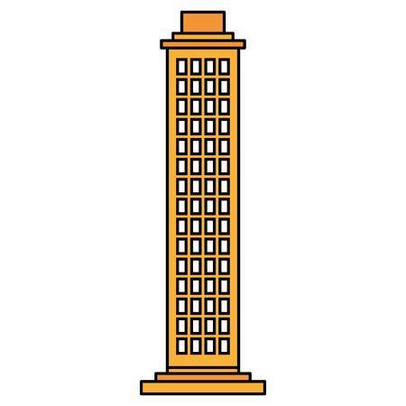 Building  isolated icon vector illustration design  イラスト・ベクター素材