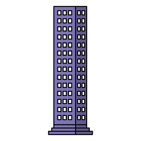 Building isolated icon vector illustration design