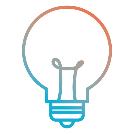 Bulb light isolated icon vector illustration design.
