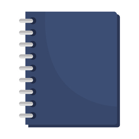 Notebook school isolated icon vector illustration design.