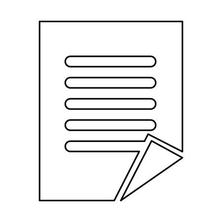 Finance document paper icon vector illustration design 向量圖像