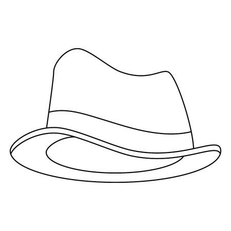 Accesorio de cumpleaños estilo de accesorios ilustración vectorial de diseño Foto de archivo - 101108904