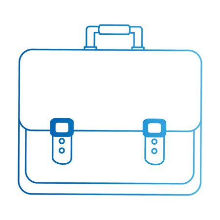 portfolio briefcase isolated icon vector illustration design Standard-Bild - 101168325