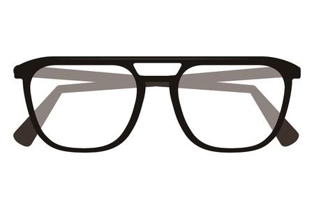 Eye glasses isolated icon vector illustration design Иллюстрация