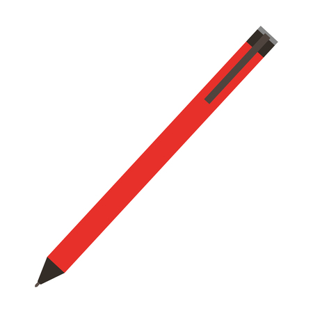 Pen school supply icon vector illustration design
