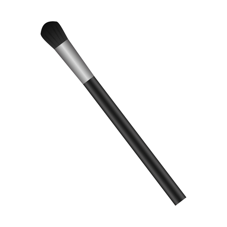 Makeup brush isolated icon vector illustration design  イラスト・ベクター素材